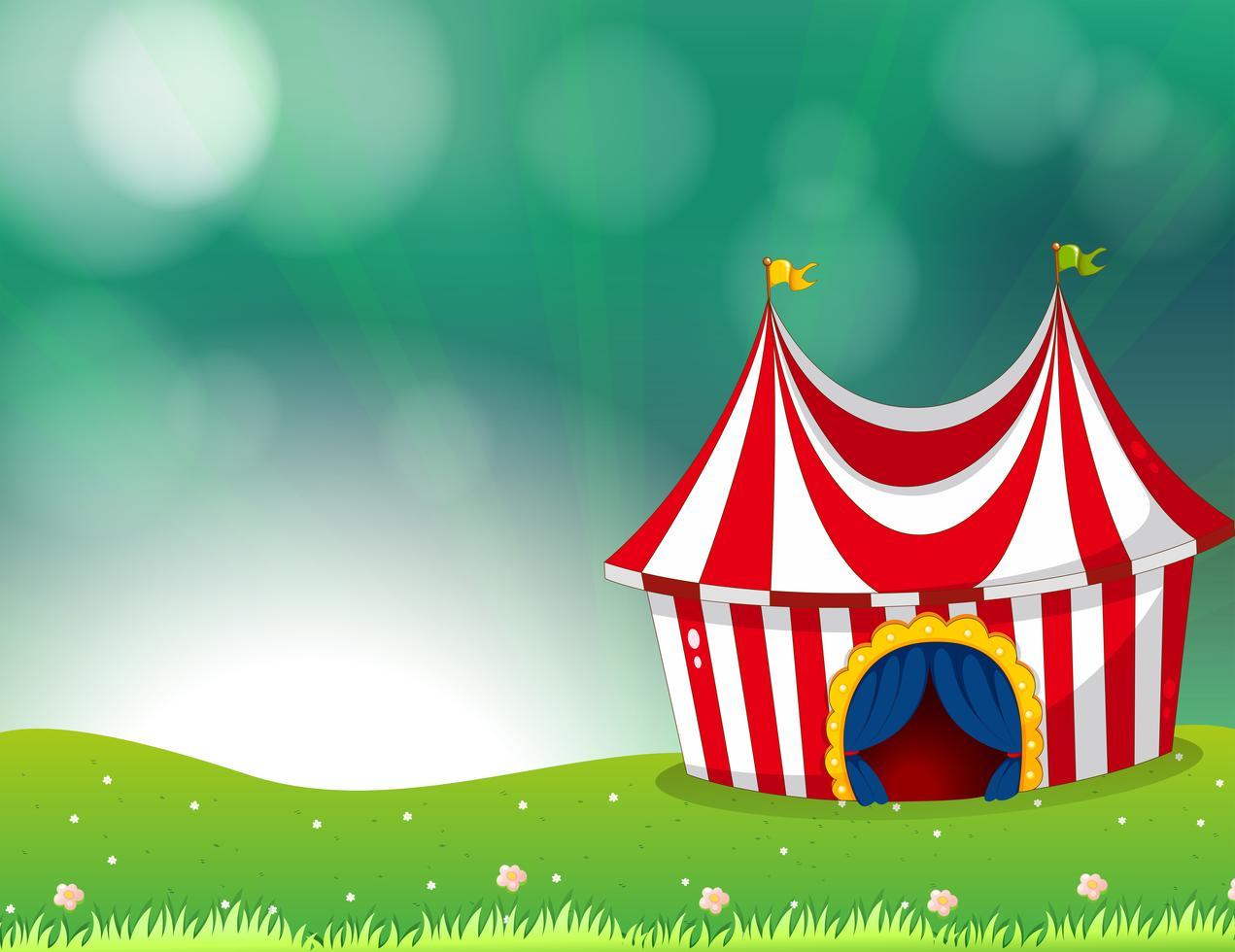 Circus themed slot machine